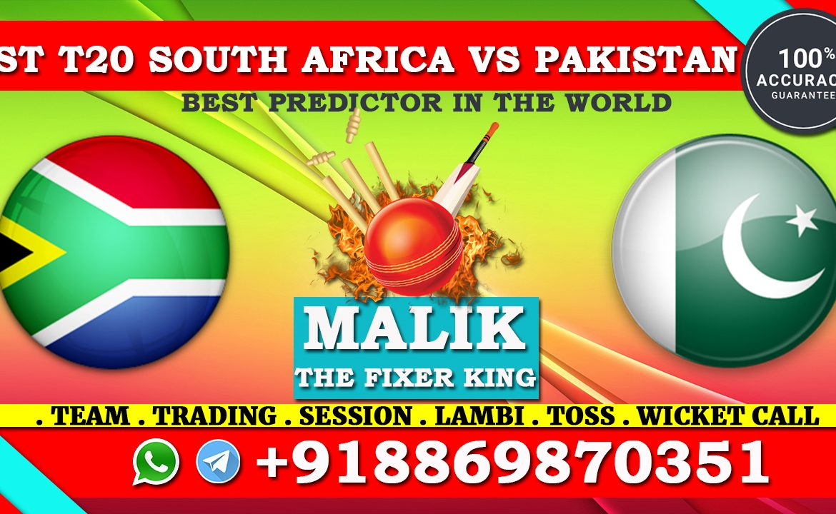 1st T20 Match South Africa vs Pakistan
