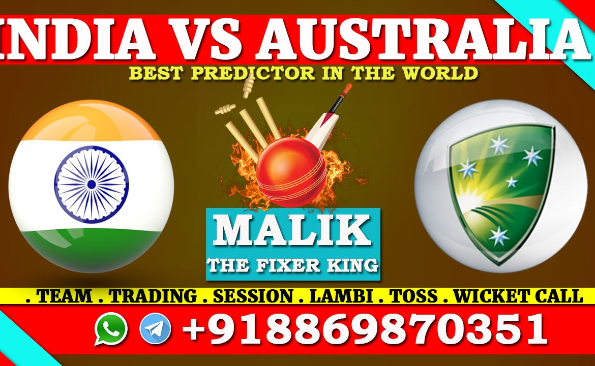 2nd T20 Match India vs Australia