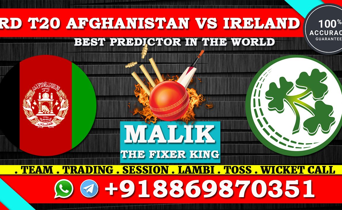 Afghanistan vs Ireland