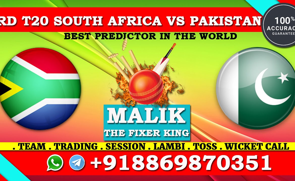3rd T20 Match South Africa vs Pakistan