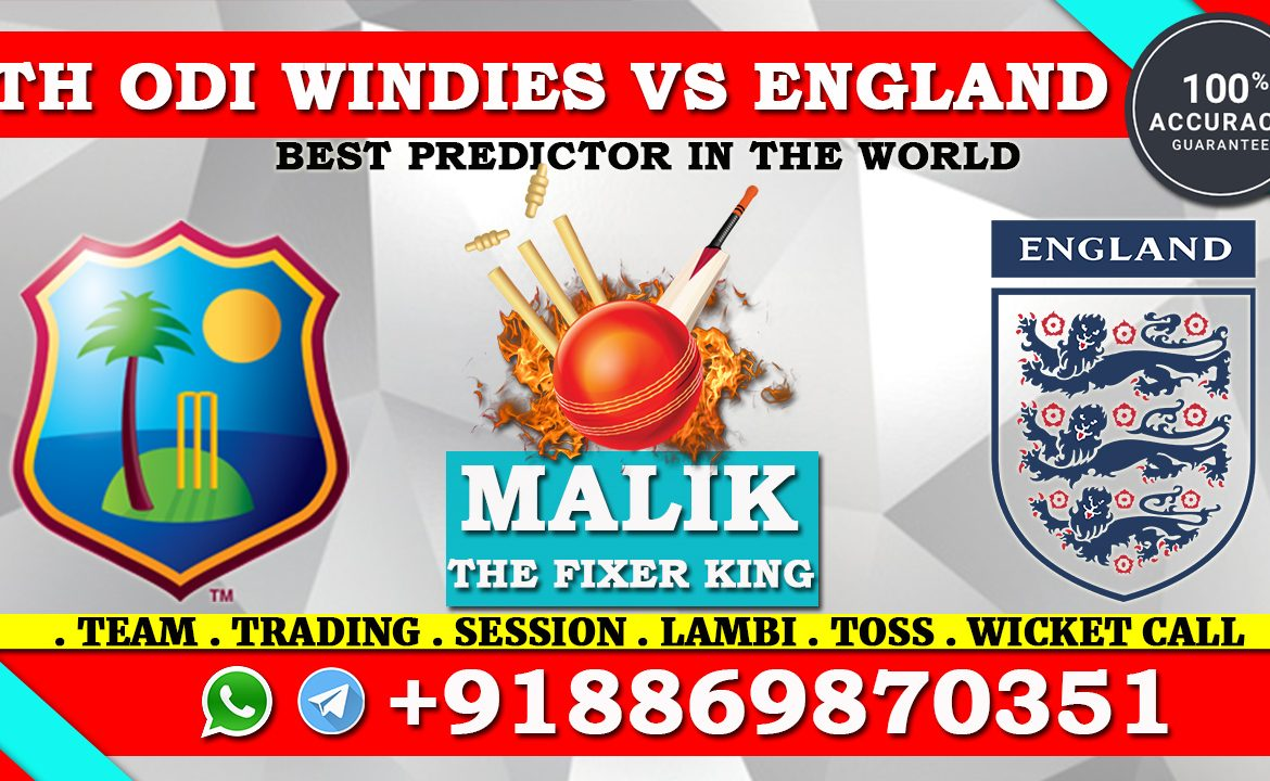 4th ODI Match Windies vs England