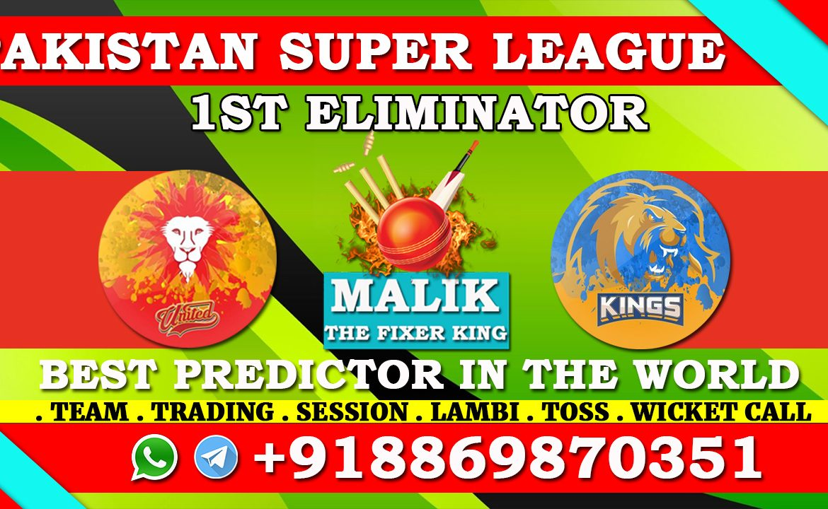 Islamabad United vs Karachi Kings