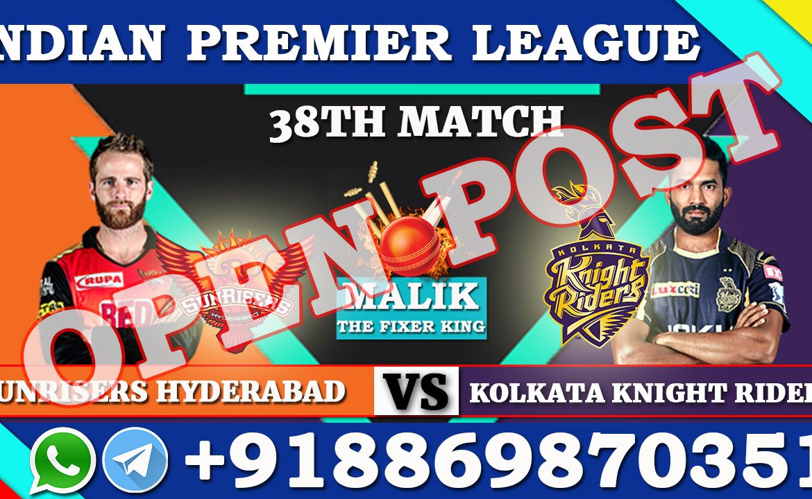 38th Match SRH VS KKR & 39th Match RCB VS CSK