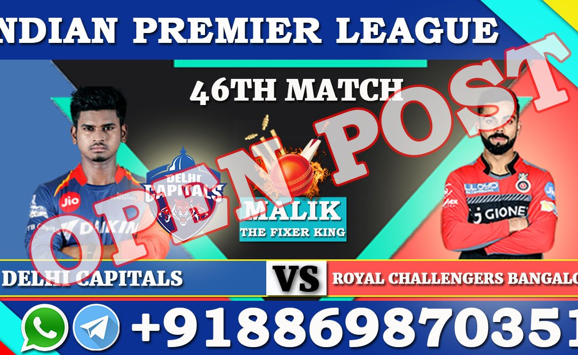46th Match DC VS RCB & 47th Match KKR VS MI