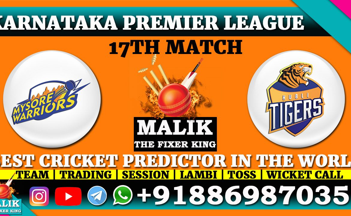 Mysuru Warriors vs Hubli Tigers