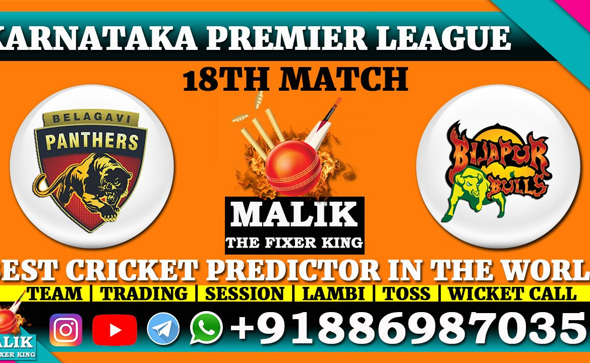 Belagavi Panthers vs Bijapur Bulls