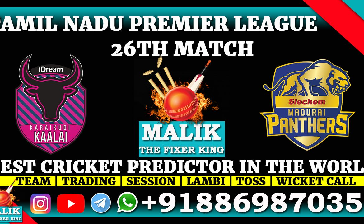 Karaikudi Kaalai vs Madurai Panthers