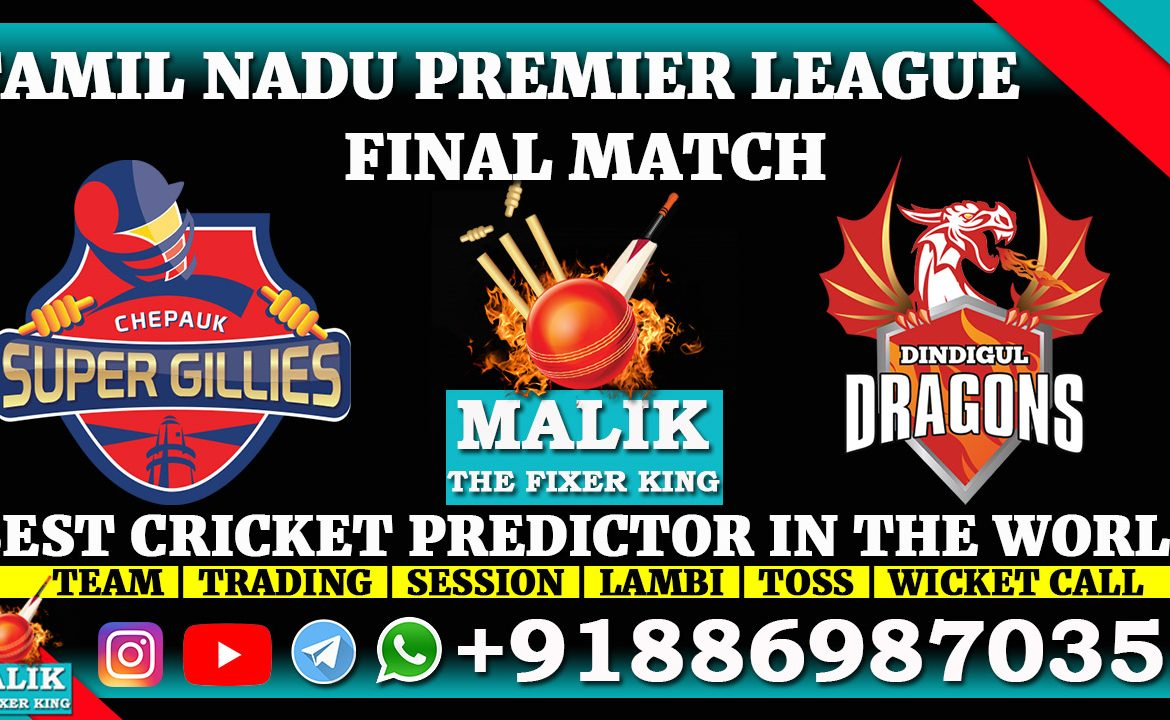 Chepauk Super Gillies vs Dindigul Dragons