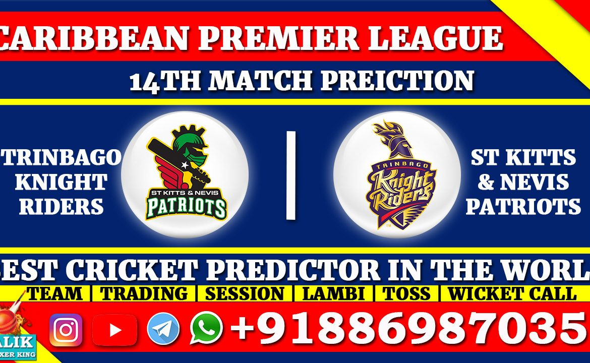 St Kitts and Nevis Patriots vs Trinbago Knight Riders