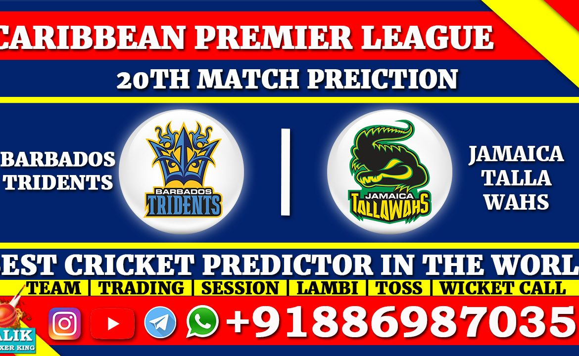 Barbados Tridents vs Jamaica Tallawahs