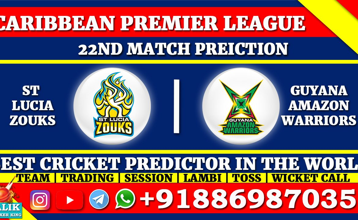 St Lucia Zouks vs Guyana Amazon Warriors