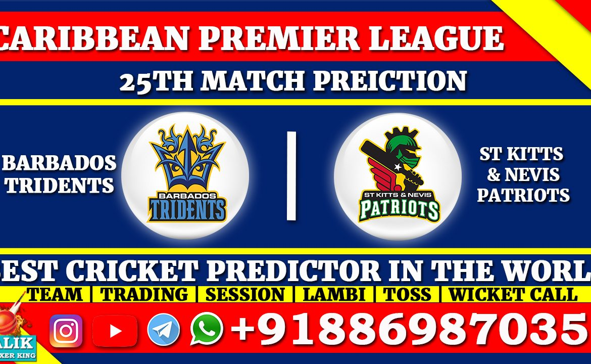 Barbados Tridents vs St Kitts and Nevis Patriots