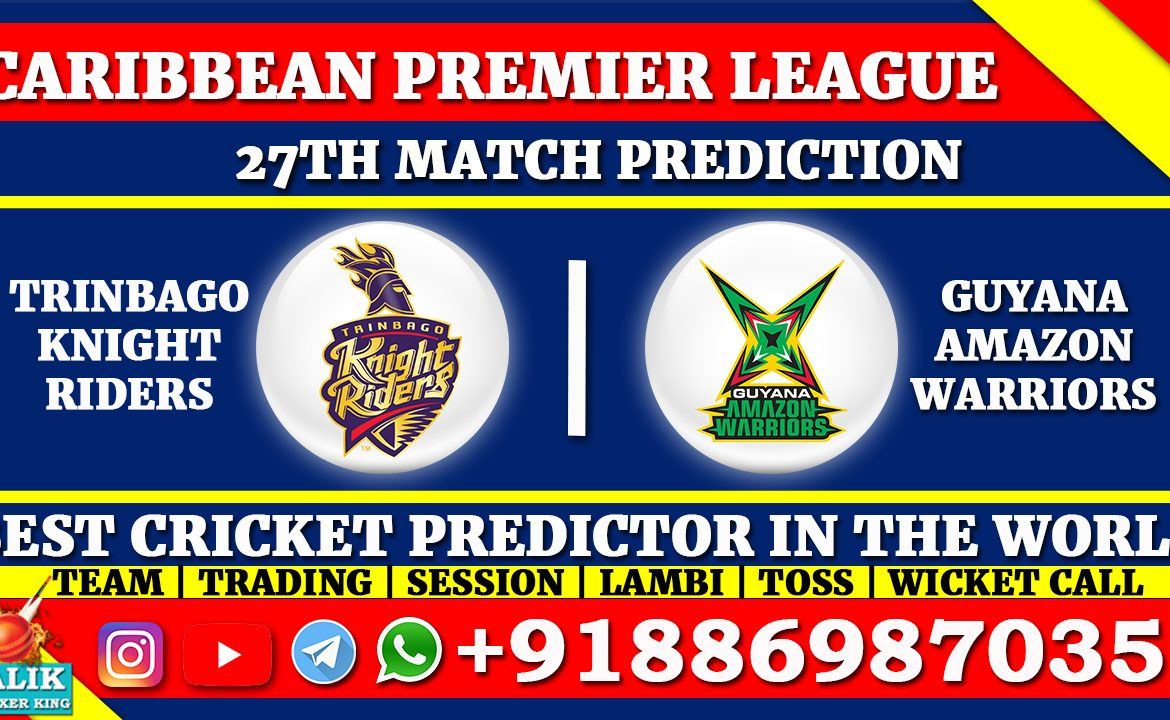 Trinbago Knight Riders vs Guyana Amazon Warriors