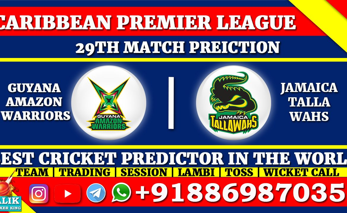 Guyana Amazon Warriors vs Jamaica Tallawahs