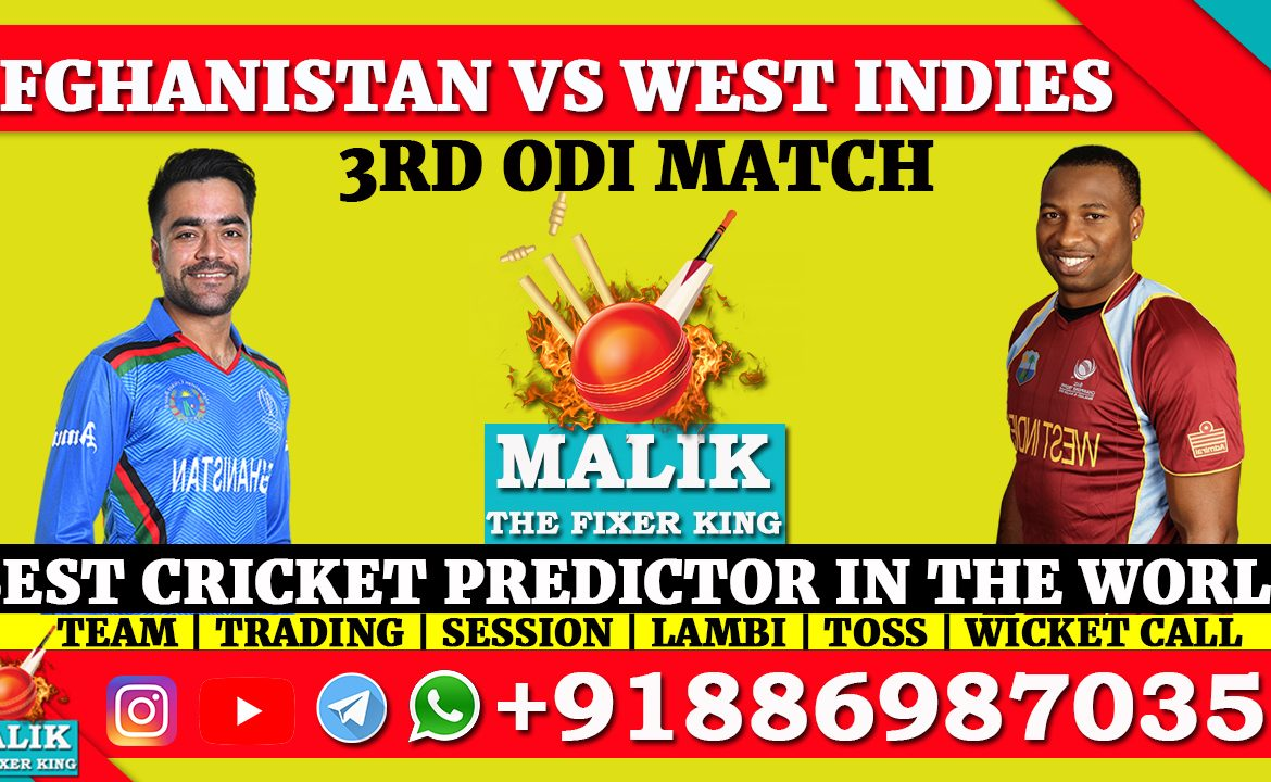 Afghanistan vs West Indies